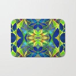 Floral Fractal Art G373 Bath Mat