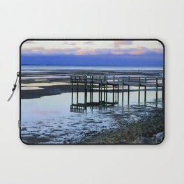 Dock at Low Tide Laptop Sleeve
