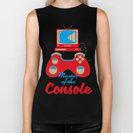 Master of the console Biker Tank