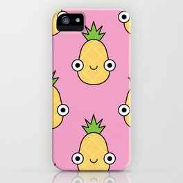 Happy Snacks Pineapple lovin iPhone Case