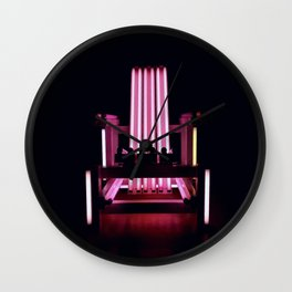 Electric Chair - Part III. Wall Clock