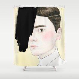 Hiding #4 Shower Curtain