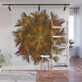 The Majesty Palm Swirl (No BG) Wall Mural