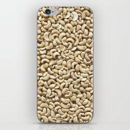 Cashew. Background iPhone Skin