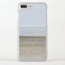 Airport on the beach Clear iPhone Case