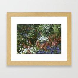 Garden at Grant Park Framed Art Print