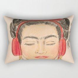 The Modernization of Frida Rectangular Pillow