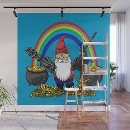 Gnome Guns Wall Mural