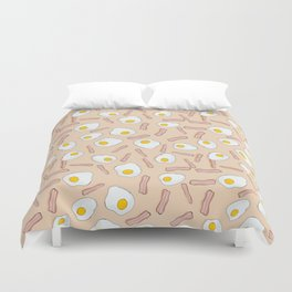 Eggs and bacon Duvet Cover