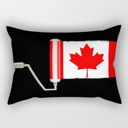 Paint Roller Canada Rectangular Pillow