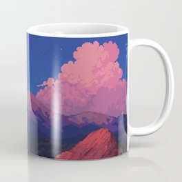 Sunset at Garden of the Gods Coffee Mug