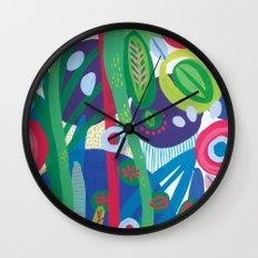 Secret garden I  Wall Clock
