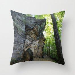 The Ledges of Cuyahoga Throw Pillow