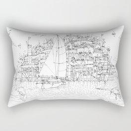 La Citta' sul mare Rectangular Pillow