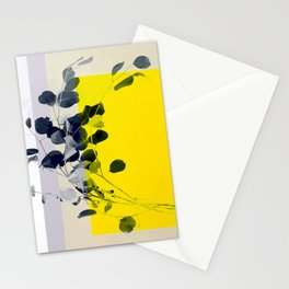grayellow_mood Stationery Cards