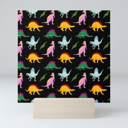 DINOSAURS Mini Art Print