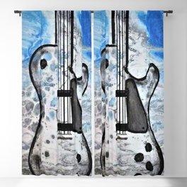 Guitar Art. Abstract Guitar. Rock and Roll. Gibson Guitar. Blackout Curtain