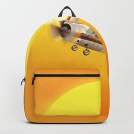 Bright Yellow Sun Backpack