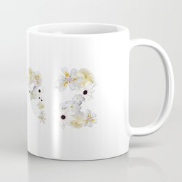 White Flower 1992 Coffee Mug