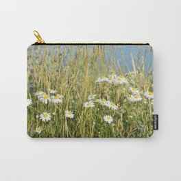 Wildflowers along the lake Carry-All Pouch
