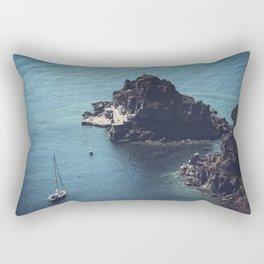 Santorini, Greece 25 Rectangular Pillow