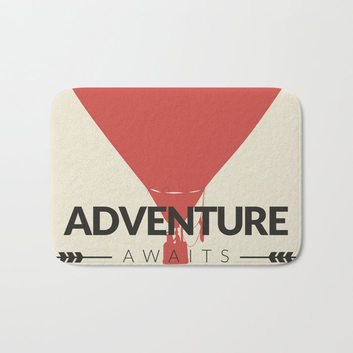 Your Adventure Awaits Bath Mat