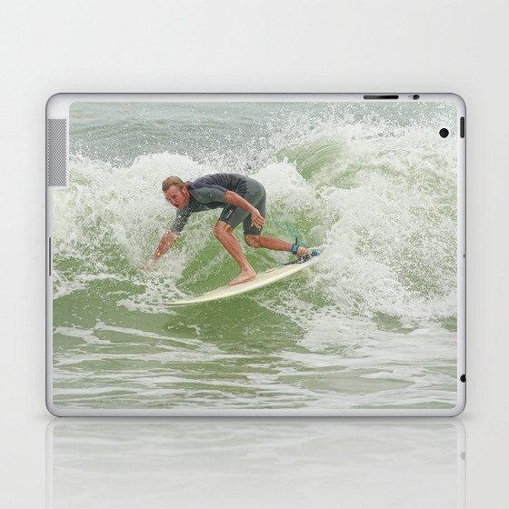 Ponce Surfer 121611 Laptop & iPad Skin