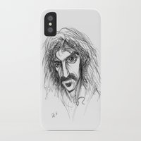 zappa iPhone & iPod Cases featuring Zappa by Mark T. Zeilman