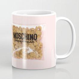 Moschino Pink Bag with Snacks Coffee Mug