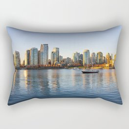Golden City Rectangular Pillow