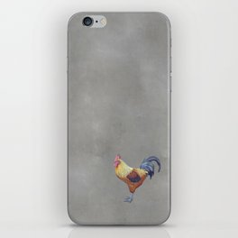 Chalk-a-doodle-do iPhone Skin