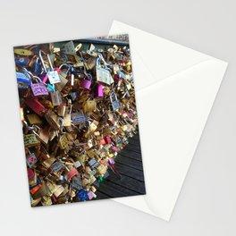 Love Locks in Paris Stationery Cards