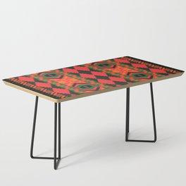 Neon tribal art Coffee Table
