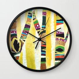 Runk Trees Wall Clock