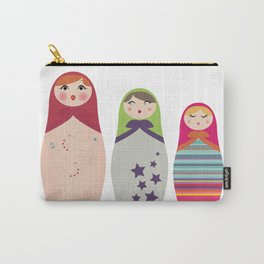 Russians Dolls whoops !  Carry-All Pouch