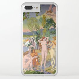 lorde in 'eros is struck by psyche's beauty' by maurice denis, 1908 Clear iPhone Case