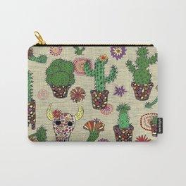 mosaic cactus plant pots Carry-All Pouch