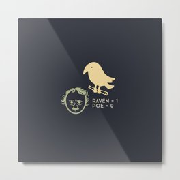 Poe & Raven (designer) Metal Print