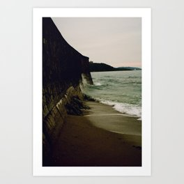 Gylly Beach - Curves Art Print