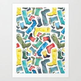 Boots Art Print