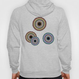 Cool Ethnic annular pattern Hoody