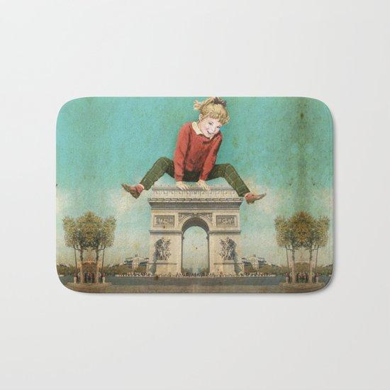 Parisian leapfrog  Bath Mat