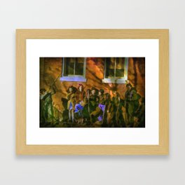 When Kids Could Be Just Kids Framed Art Print
