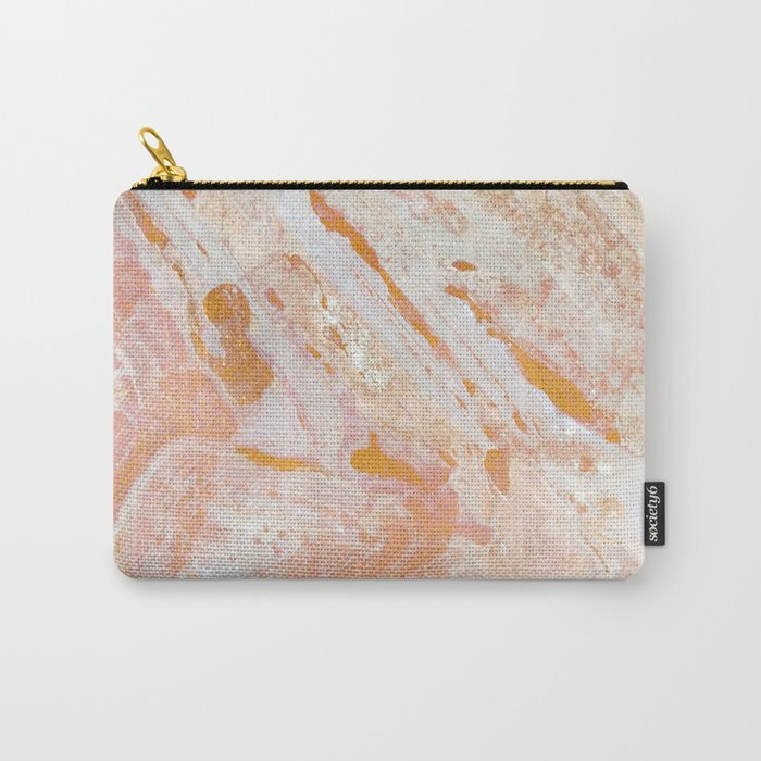 Gold Feelings Carry-All Pouch