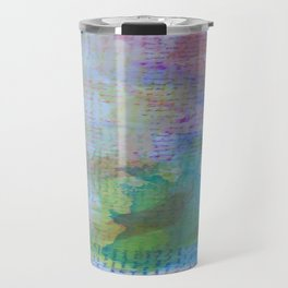 Words and Water Paint 3 Travel Mug