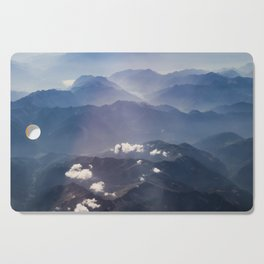 Alps view Cutting Board
