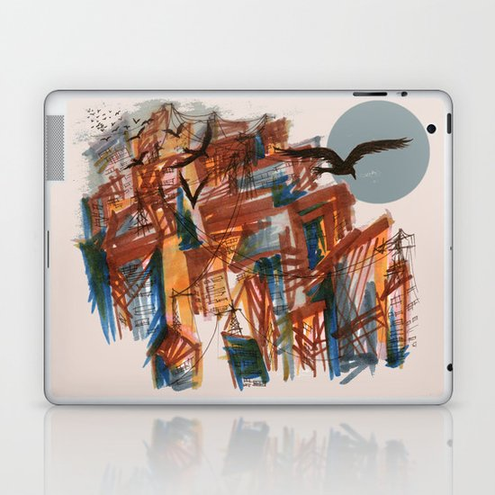 The City pt. 2 Laptop & iPad Skin