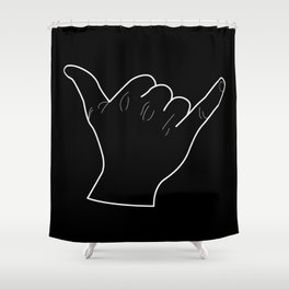 shaka Shower Curtain