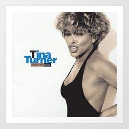 Tina Anna Mae Bullock Ike Turner Society6 Online Shopping - Music Icon - Ⓢ.в.乇.⑦⑧ Ⓜⓘⓛⓛⓨ QQ2 Art Print
