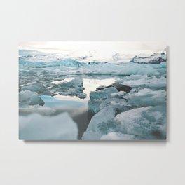 Iceland Glacier Lagoon | Jökulsárlón Metal Print